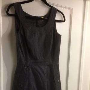 Calvin Klein dark denim dress with pockets size 2